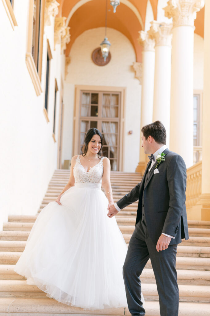 Intimate Italian Wedding at Biltmore Hotel in Coral Gables.